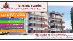İstanbul Suadiye Mantolama, ve Isı Yalıtım